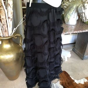 Beautiful Black Eyelash Skirt